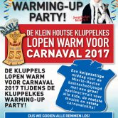 Kluppelkes warming-up party