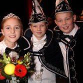 Onthulling Jeugdprins, jeugdprinses, vorst en raad van elf